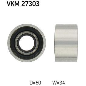 Паразитна / водеща ролка, зъбен ремък VKM 27303 25 Хечбек (RF) 2.0 iDT Г.П. 2005