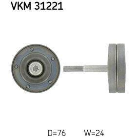 Polo 6r 1.2 Umlenk- / Führungsrolle, Keilrippenriemen SKF VKM 31221 (1.2 Benzin 2020 CGPB)