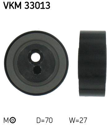 SKF  VKM 33013 Spannrolle, Keilrippenriemen Ø: 70mm, Breite: 27mm
