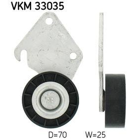 SKF  VKM 33035 Umlenkrolle Keilrippenriemen Ø: 70mm