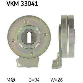 Spannrolle, Keilrippenriemen Ø: 94mm, Breite: 26mm mit OEM-Nummer 6453AN
