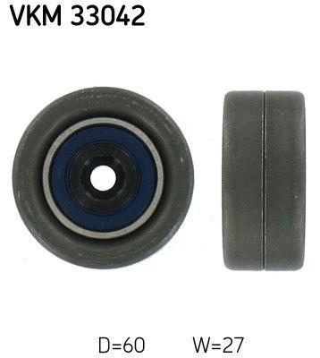 SKF  VKM 33042 Spannrolle, Keilrippenriemen Ø: 60mm, Breite: 27mm