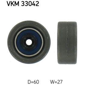Spannrolle, Keilrippenriemen Ø: 60mm, Breite: 27mm mit OEM-Nummer 5751.91
