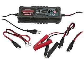 CARCOMMERCE  42215 Chargeur de batterie Tension-entrée: 230V