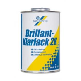Klarlack CARTECHNIC 40 27289 03078 4 für Auto (transparent, 2K-Lack, Inhalt: 1l)