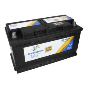 CARTECHNIC Starterbatterie 12V 95Ah 800A B13 L5 Bleiakkumulator