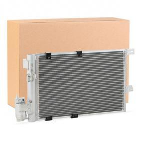 Kondensator, Klimaanlage Kältemittel: R 134a mit OEM-Nummer 9 118 897