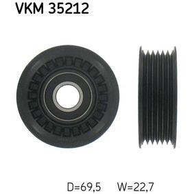 Umlenkrolle Keilrippenriemen Ø: 69,5mm mit OEM-Nummer 97 312 464