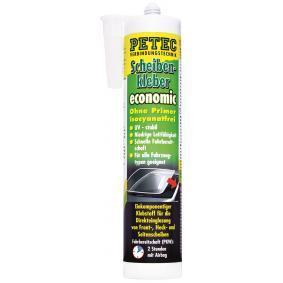 Sellador de parabrisas y vídrio PETEC 84290 para auto (15min, negro, Contenido: 290ml)