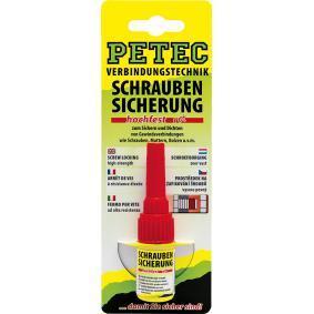 Schraubensicherungen PETEC 92005 für Auto (5g, -55°C +150°C°C, rot)