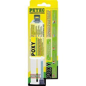Allzweckklebstoffe PETEC 98425 für Auto (–40°C +120°C°C, farblos, silikonfrei, Inhalt: 24ml)