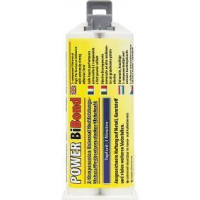 Adhesivo de uso general PETEC 98550 para auto (–40°C +120°C°C, blanco/amarillo, sin silicona, Contenido: 50ml)