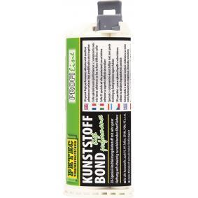 Kunststoffkleber PETEC 98150 für Auto (-50°C + 100°C°C, schwarz, ölbeständig, schleifbar, silikonfrei, überlackierbar, Kartusche, 50ml)