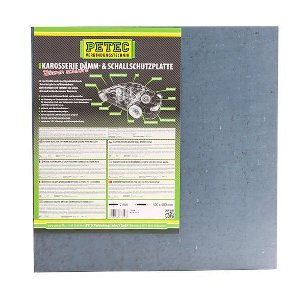 Sound deadening mat 87610 PETEC 87610 original quality