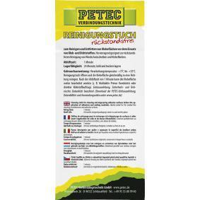 PETEC Toallitas para limpieza de las manos 82111