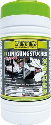 Handrengöringsdukar PETEC 82120 Expertkunskap