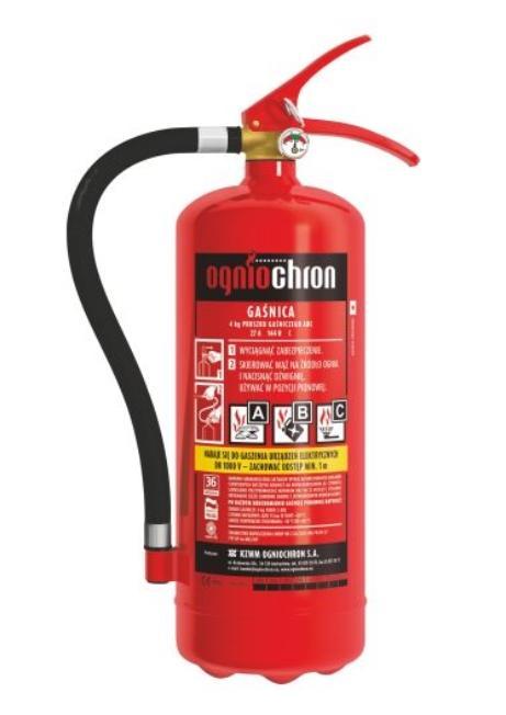 OGNIOCHRON  GP4X ABC 4KG Extintor