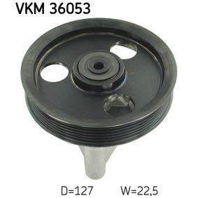 SKF  VKM 36053 Umlenkrolle Keilrippenriemen Ø: 127mm