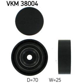 SKF  VKM 38004 Umlenkrolle Keilrippenriemen Ø: 70mm