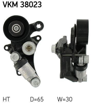 SKF  VKM 38023 Spannrolle, Keilrippenriemen Ø: 65mm, Breite: 30mm