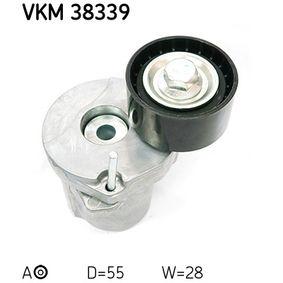 Spannrolle, Keilrippenriemen VKM 38339 3 Touring (E91) 320d 2.0 Bj 2008