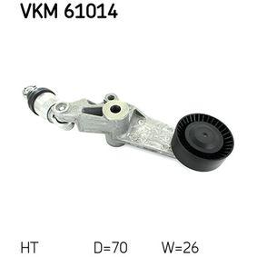 SKF  VKM 61014 Spannrolle, Keilrippenriemen Ø: 70mm, Breite: 26mm