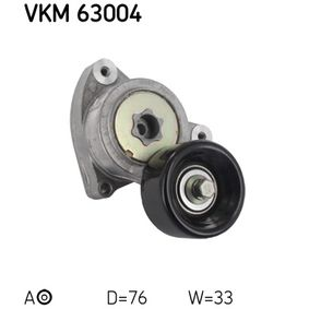 Tensioner Pulley, v-ribbed belt Ø: 76mm, Width: 33mm with OEM Number 31170-RAA-A02