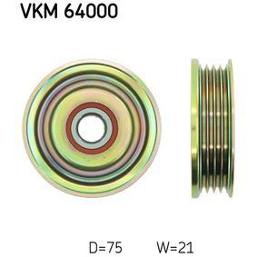 Umlenkrolle Keilrippenriemen VKM 64000 323 P V (BA) 1.3 16V Bj 1996