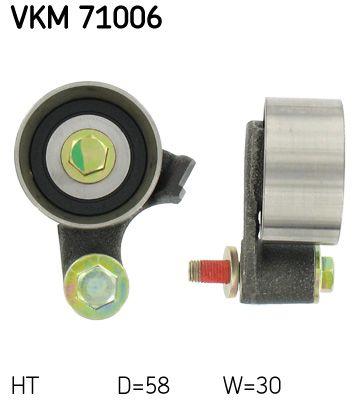 SKF  VKM 71006 Spannrolle, Zahnriemen Ø: 58mm