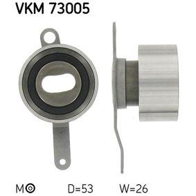 Spannrolle, Zahnriemen Ø: 53mm mit OEM-Nummer 14 510 P08 004