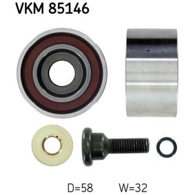 Deflection / Guide Pulley, timing belt with OEM Number 24810-27000