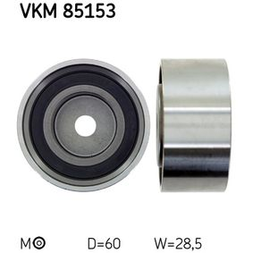 Deflection / Guide Pulley, timing belt with OEM Number 24810-23400