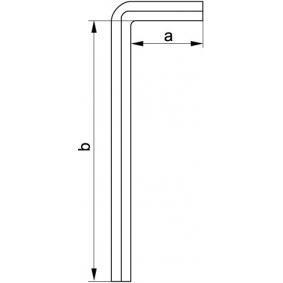 YATO Chave de parafusos angular YT-0546
