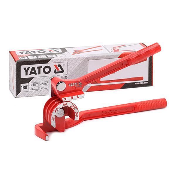Gereedschap voor het ombuigen van pijpen YATO YT-21840 expert kennis