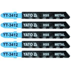 YATO Σετ λάμες πριονιού, σέγα YT-3412