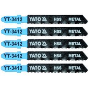 YATO  YT-3412 Sägeblattsatz, Stichsäge