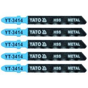 YATO Fűrészlap készlet, szúrófűrész YT-3414
