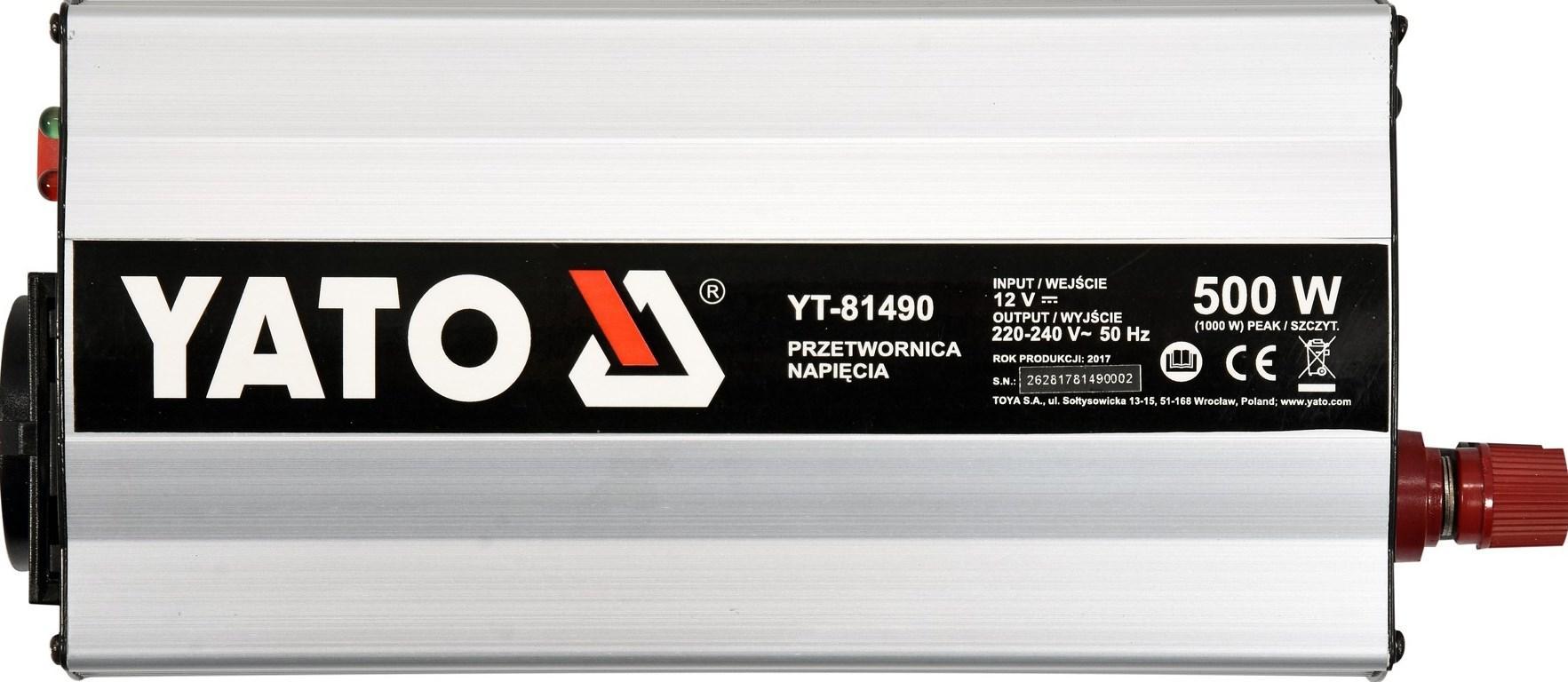 Inverter YATO YT-81490 5906083028137