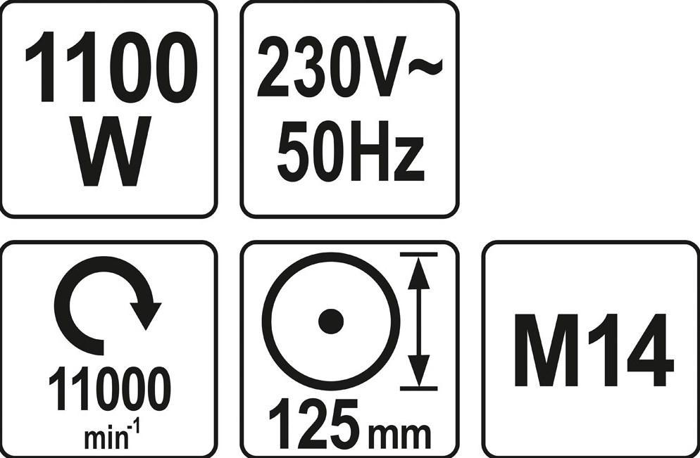 Szlifierka kątowa YATO YT-82100 oceny