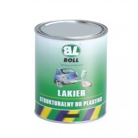 Stoßstangenfarbe BOLL 001401 für Auto (Sprühdose, Inhalt: 1000ml, schwarz)
