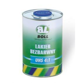 BOLL прозрачен лак (гланц) 001614