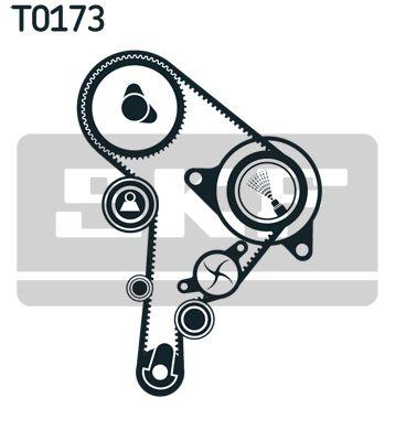 Correia de Distribuição & Kit de Distribuição SKF VKM21130 classificação
