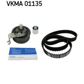 Timing Belt Set with OEM Number 06B.109.244