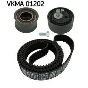 SKF Zahnriemensatz VKMA 01202 für AUDI A6 (4B2, C5) 2.4 ab Baujahr 07.1998, 136 PS