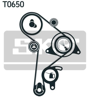Zahnriemen Kit VKMA 01256 SKF VKMT01019 in Original Qualität