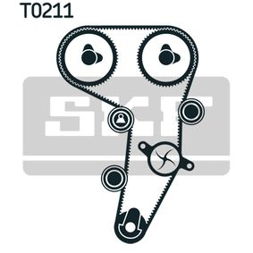 Timing Belt Set with OEM Number YM21 8A663 AA