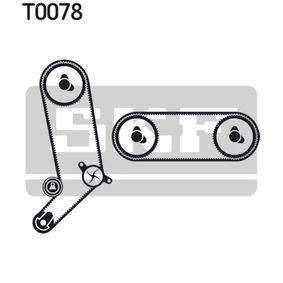 Zahnriemensatz mit OEM-Nummer 074 109 119B