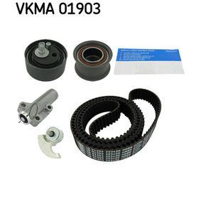 SKF Zahnriemensatz VKMA 01903 für AUDI A6 (4B2, C5) 2.4 ab Baujahr 07.1998, 136 PS