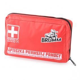 BRUMM Kit de primeros auxilios para coche ACBRAD001
