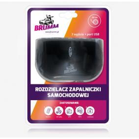 BRUMM Cable de carga, encendedor de cigarrillos ACBRROZ05C